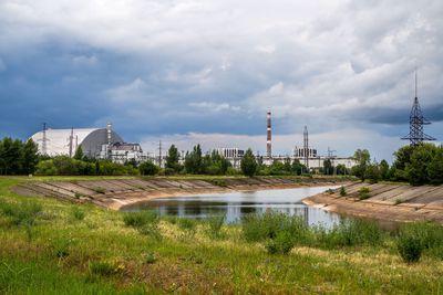 Chernobyl solar farm