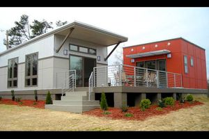 Modern starter home