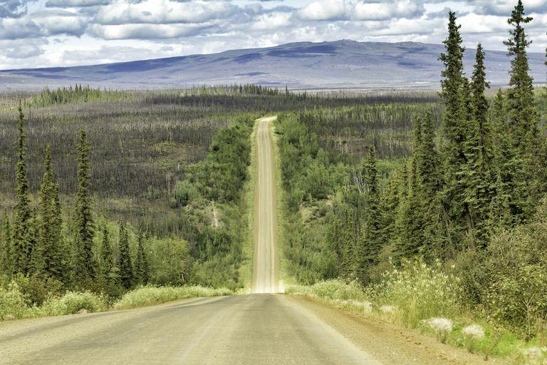 6 de las carreteras más solitarias de Norteamérica