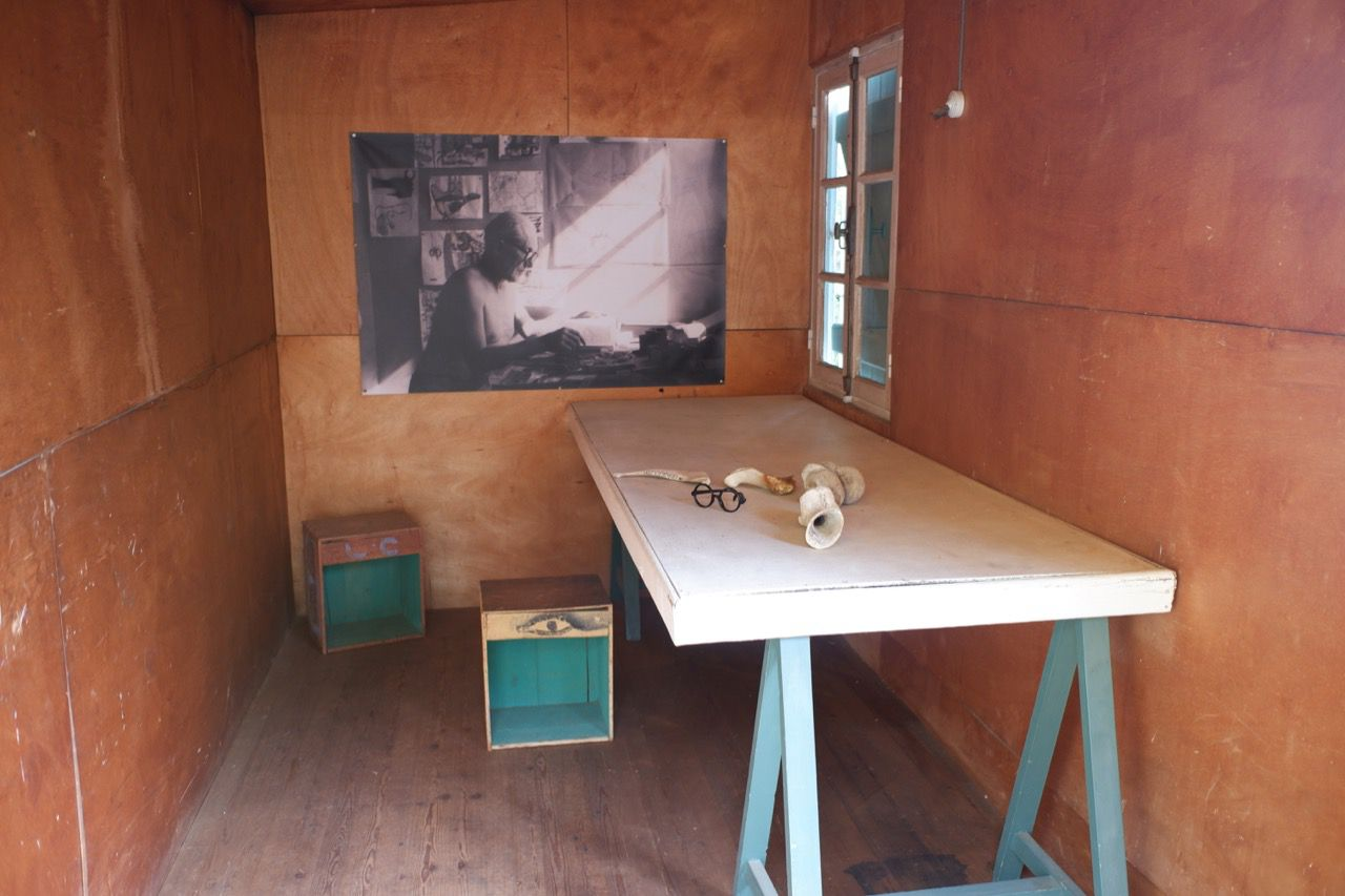 Le Corbusier's painting cabin