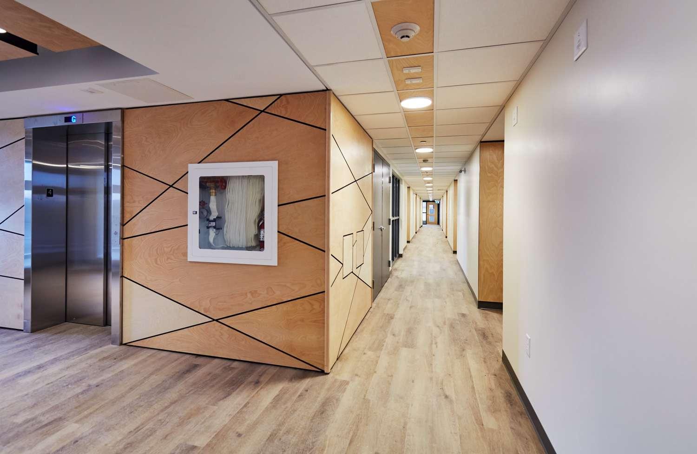 Corridor in lofts