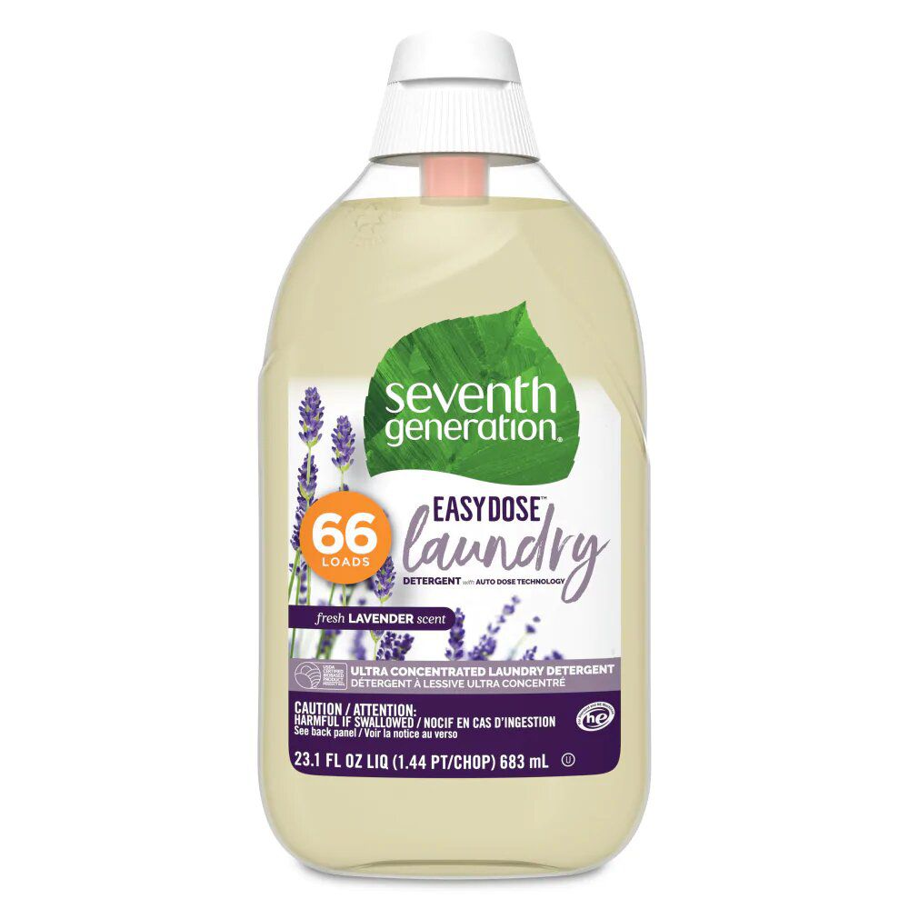 Seventh Generation EasyDose Ultra Concentrated Lavender Laundry Detergent