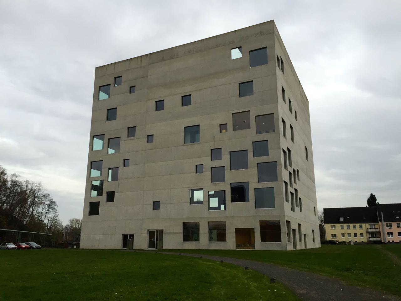 SANAA's Zollverein School of Management and Design.