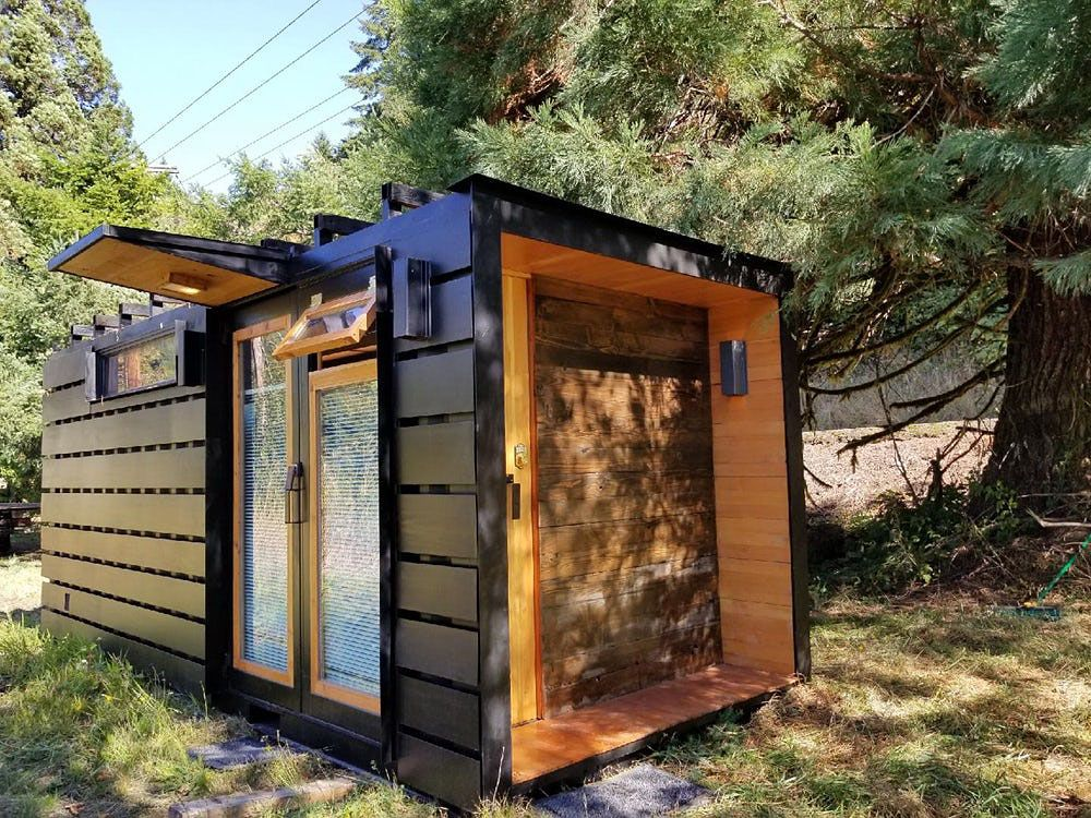True Studio Is a 162 Sq. Ft. Modern Shipping Container Home