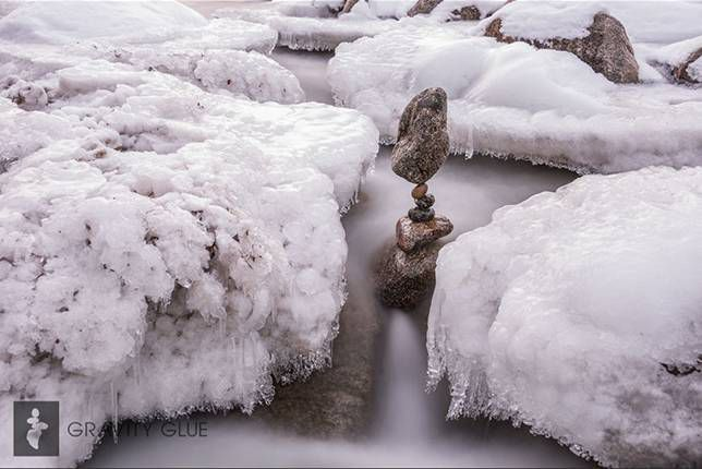 Stone balancing: Necessary risk