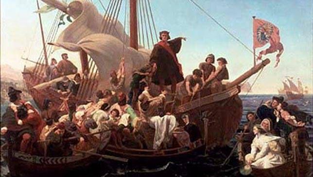 Naufragio del barco de Cristóbal Colón, el Santa María, probablemente encontrado frente a la costa de Haití