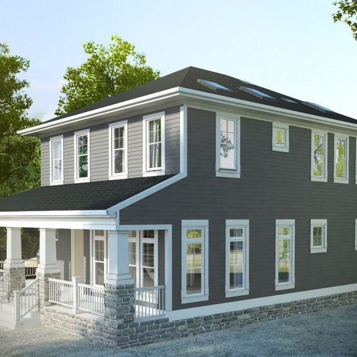 Active house exterior