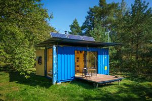 Gaia Shipping Container