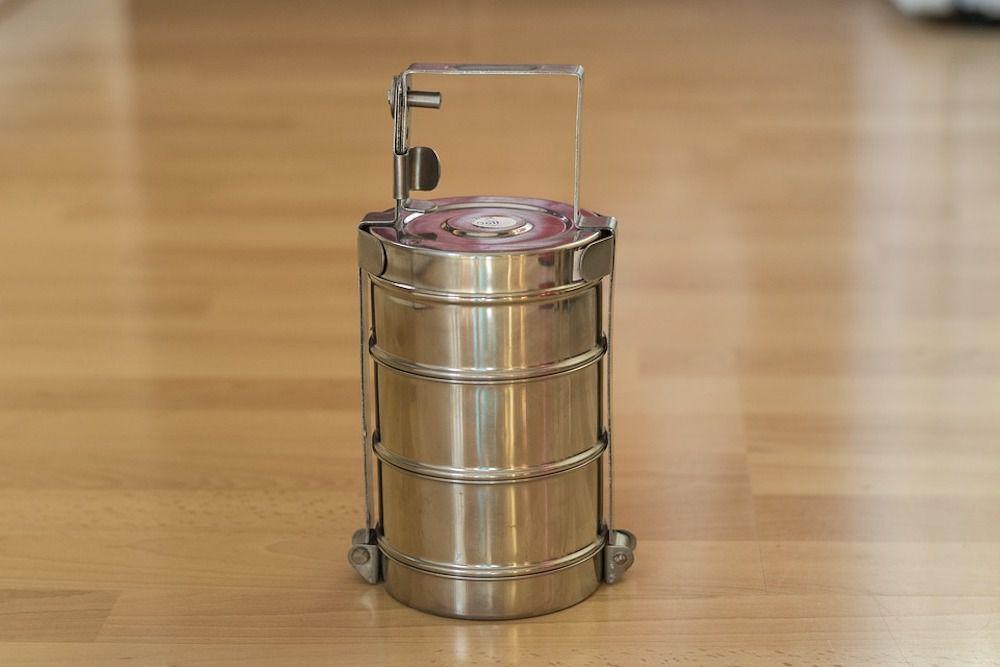 stainless steel tiffin