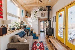 tiny house by Mitchcraft Tiny Homes interior