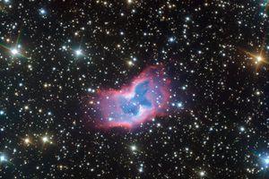 Highly detailed image of the NGC 2899 planetary nebula.