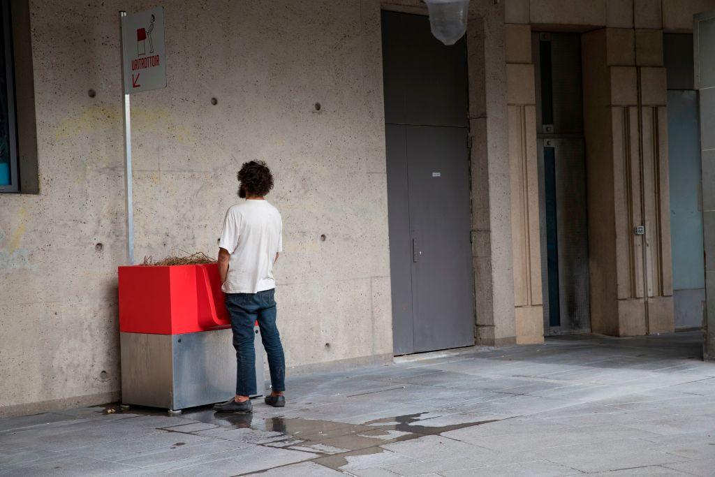 uritrottoir in Paris