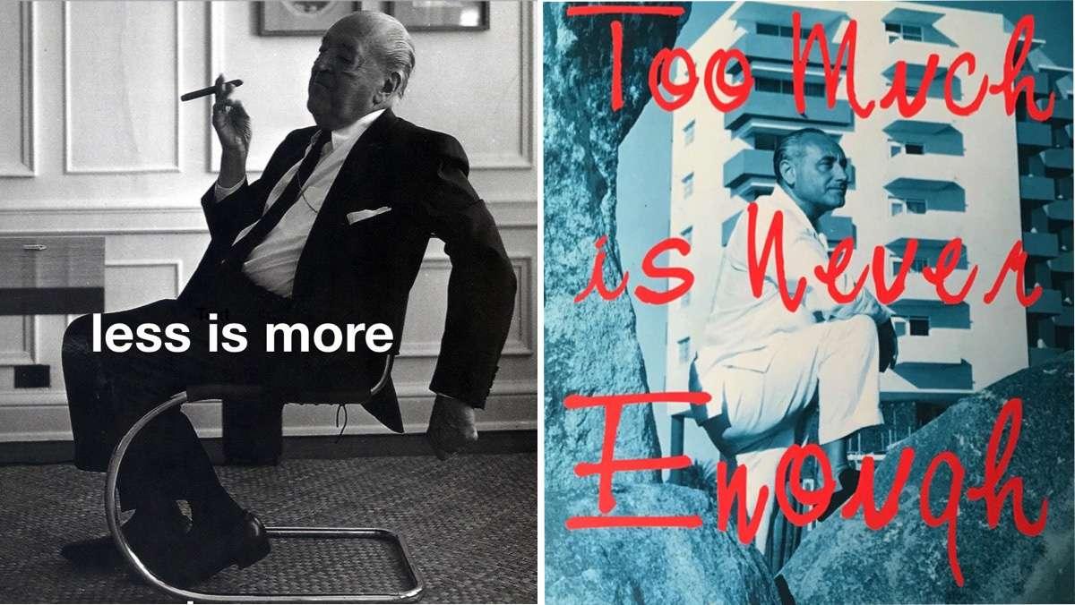Mies and Morris