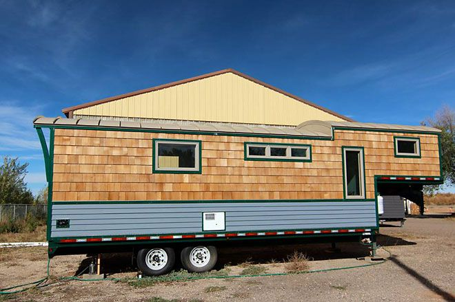Refreshing Tiny House Is Built Using Gooseneck Trailer,Boys 2 Kids Bedroom Ideas For Small Rooms