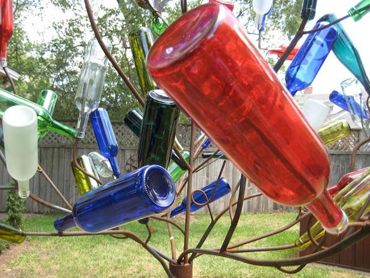 10 Diy Projects That Reuse Your Old Glass Bottles