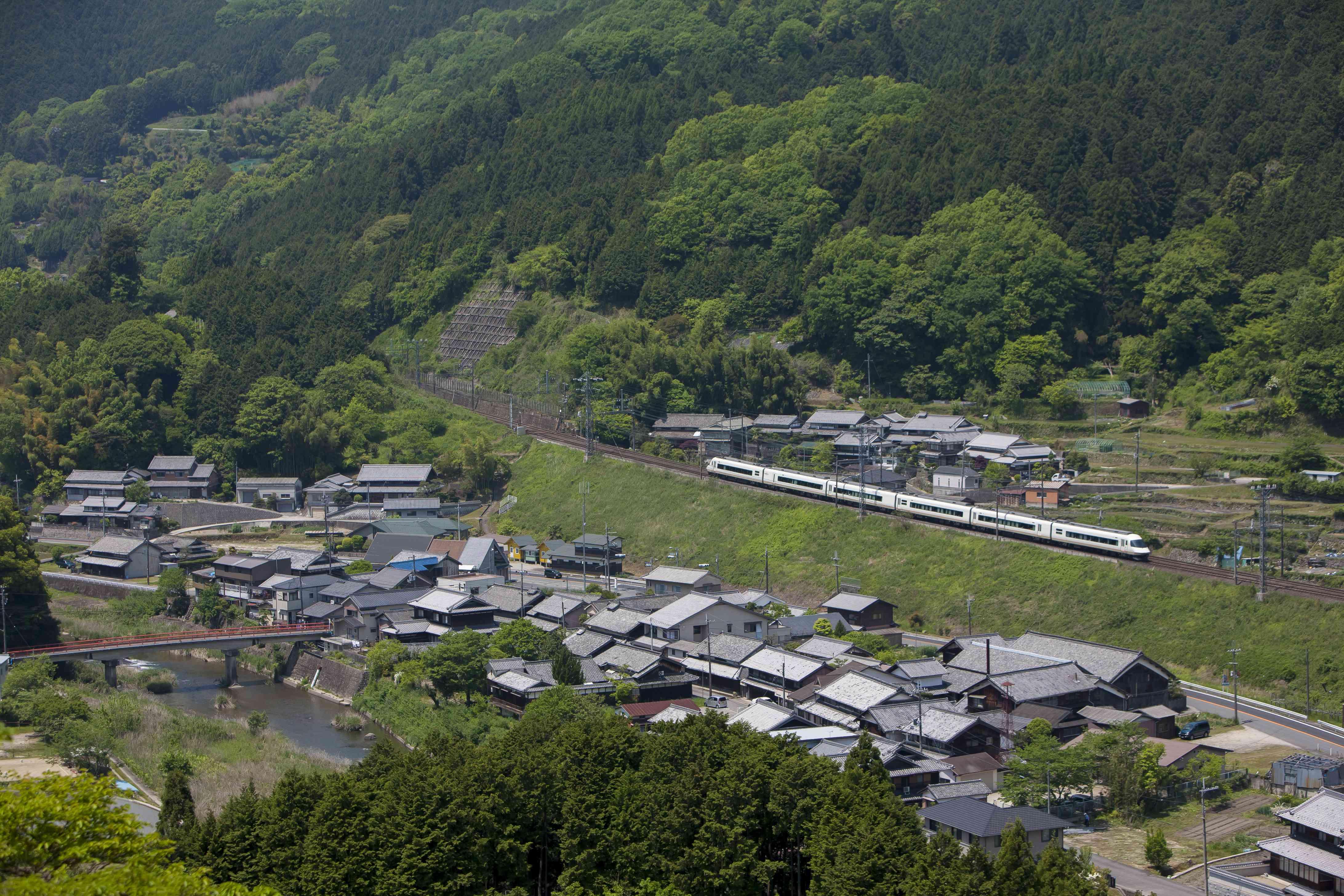 Kintetsu Limited Express train, Japan