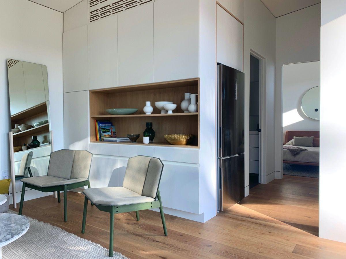 interior toward kitchen