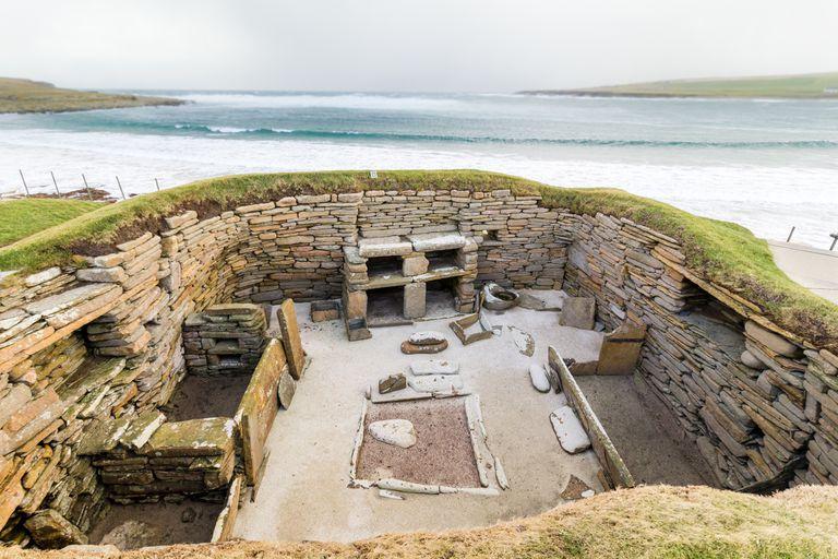 Los mares en aumento se están tragando las ruinas de la Edad de Piedra de Escocia
