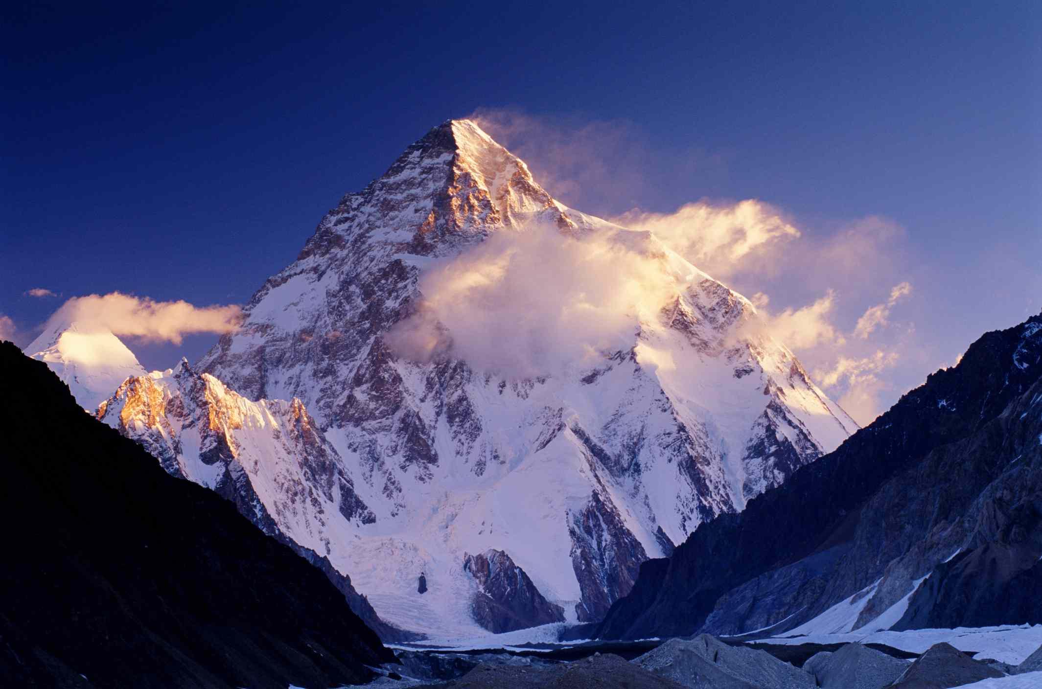 K2 mountain in Pakistan