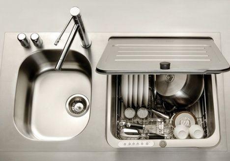 Kitchenaid Briva in-skink dishwasher
