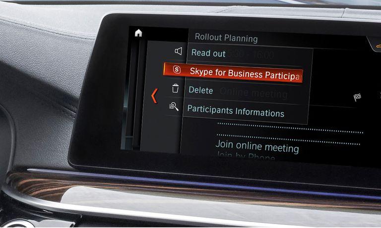 Convierta su automóvil en su oficina con un BMW equipado con Skype