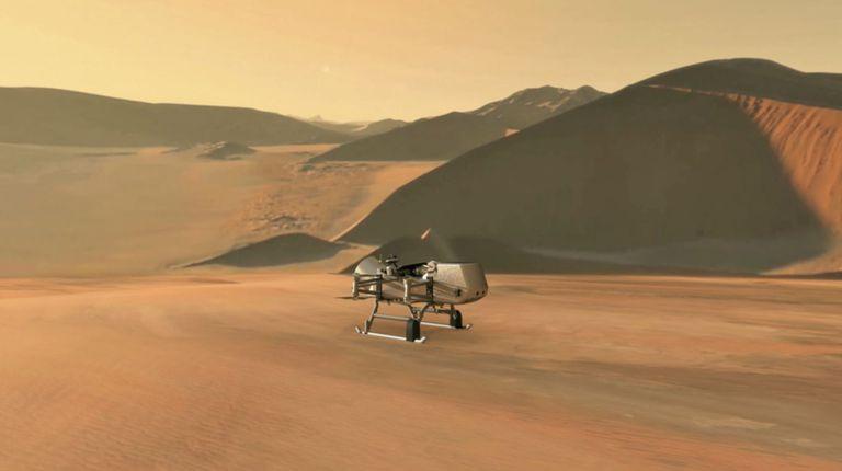 Por qué la NASA envía un robot alado a la luna de Saturno, Titán