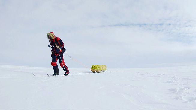 Cómo Colin O'Brady cruzó la Antártida sin ninguna ayuda