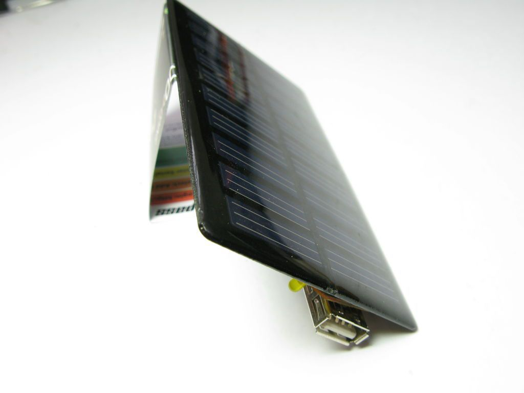solar charger side