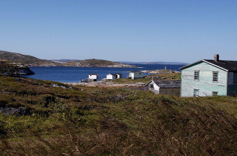 A view of Battle Harbour, Labrador