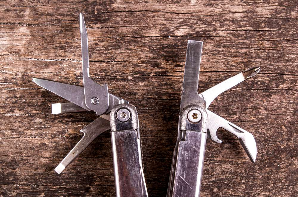 leatherman multipurpose tool knife