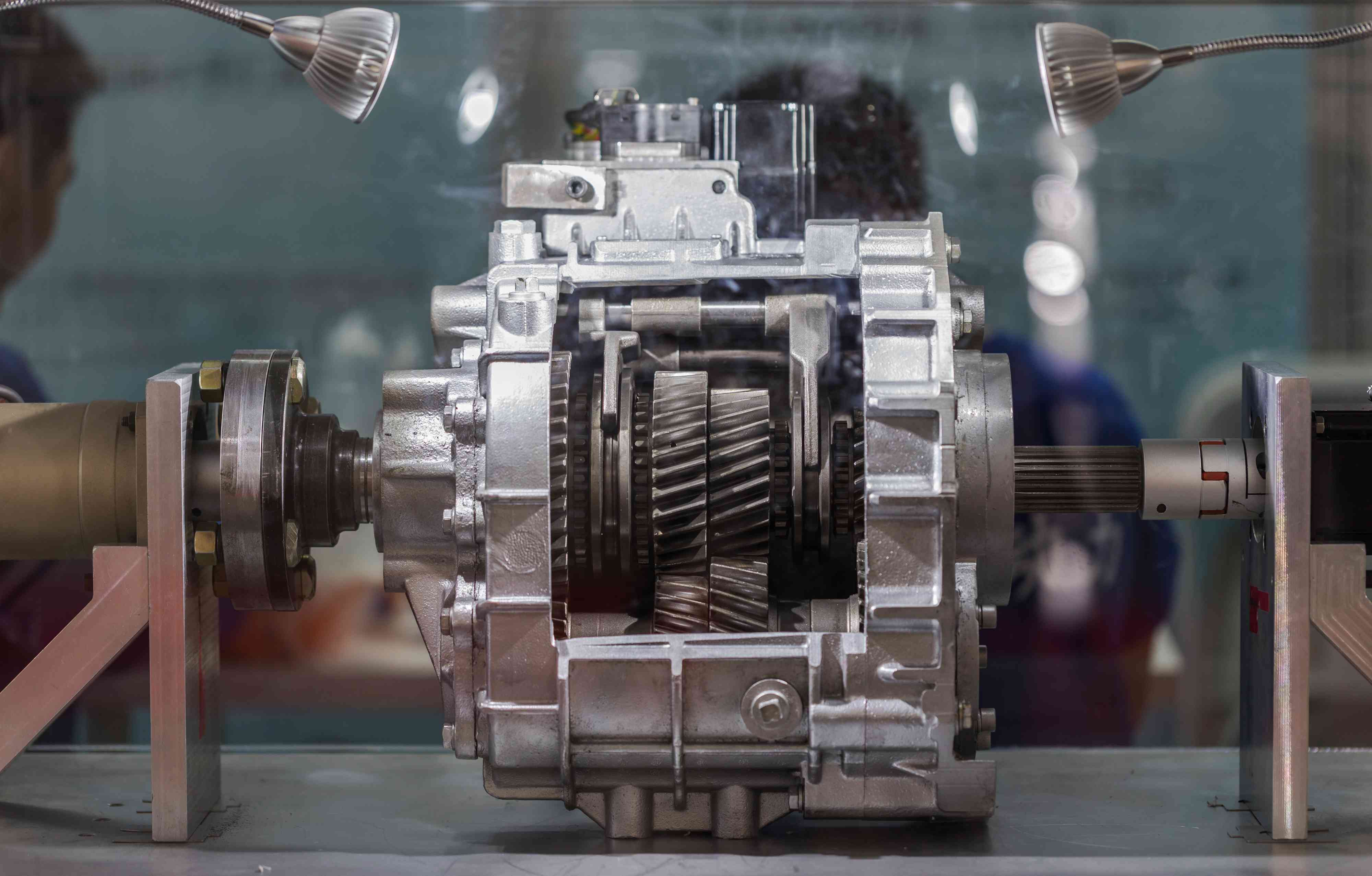 An electric vehicle gearbox