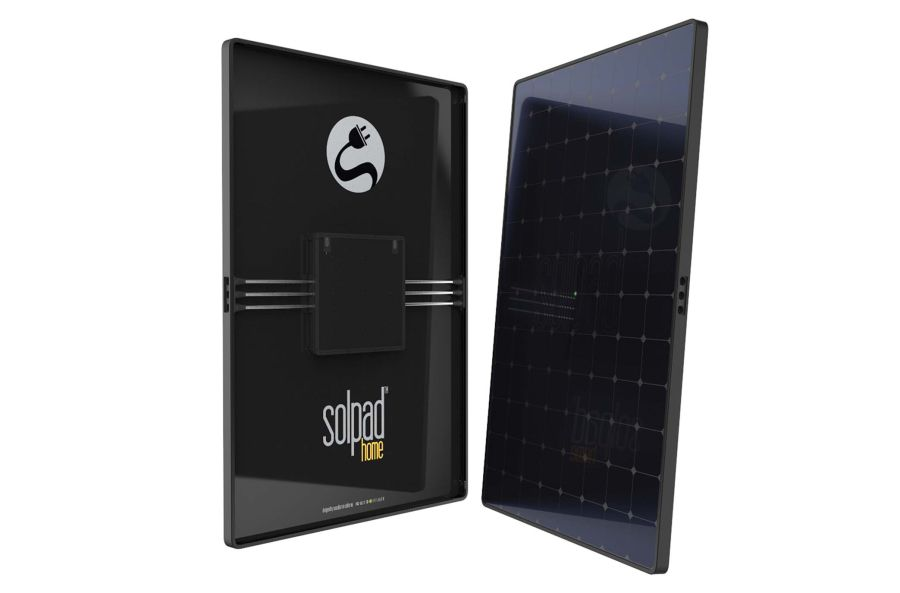 New Solar Panel Integrates Battery Storage, Inverter, and Smart Software Into a Single Unit