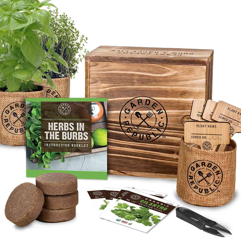 Garden Republic Herb Garden Kit