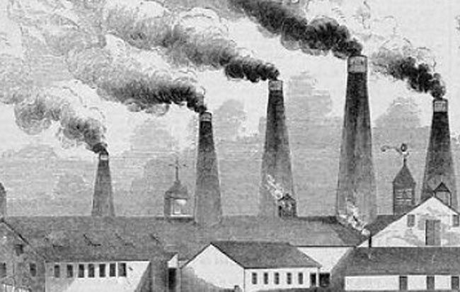 Smokestacks dilute air pollution, but newer technology cleans air using the same technique Mother Nature uses
