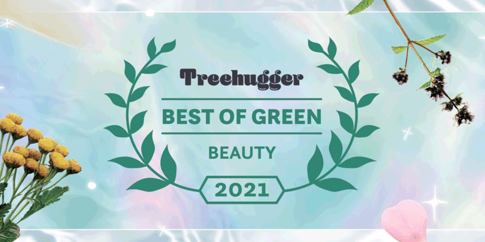 Best of Green beauty awards badge