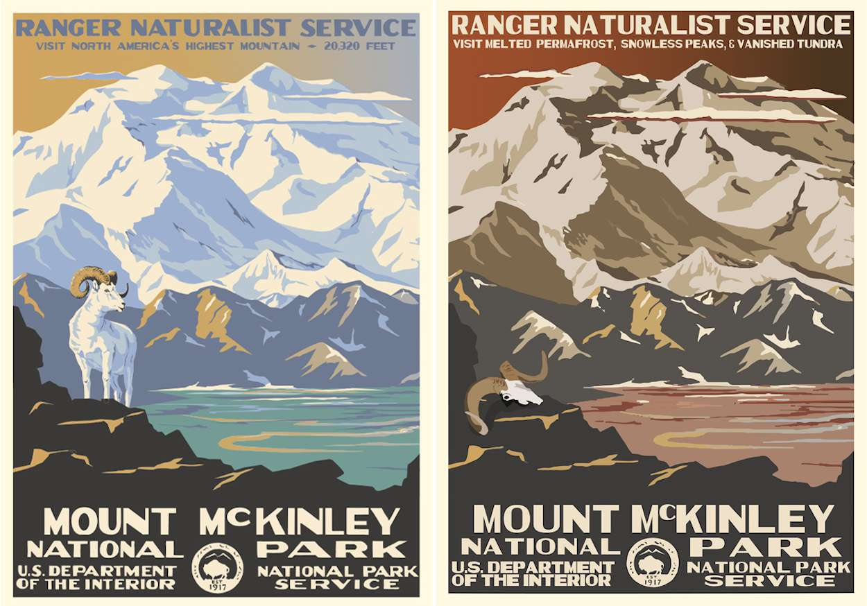 Mount Mckinley poster