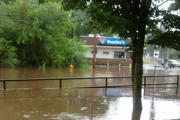 Flooding in Duluth Minnesota