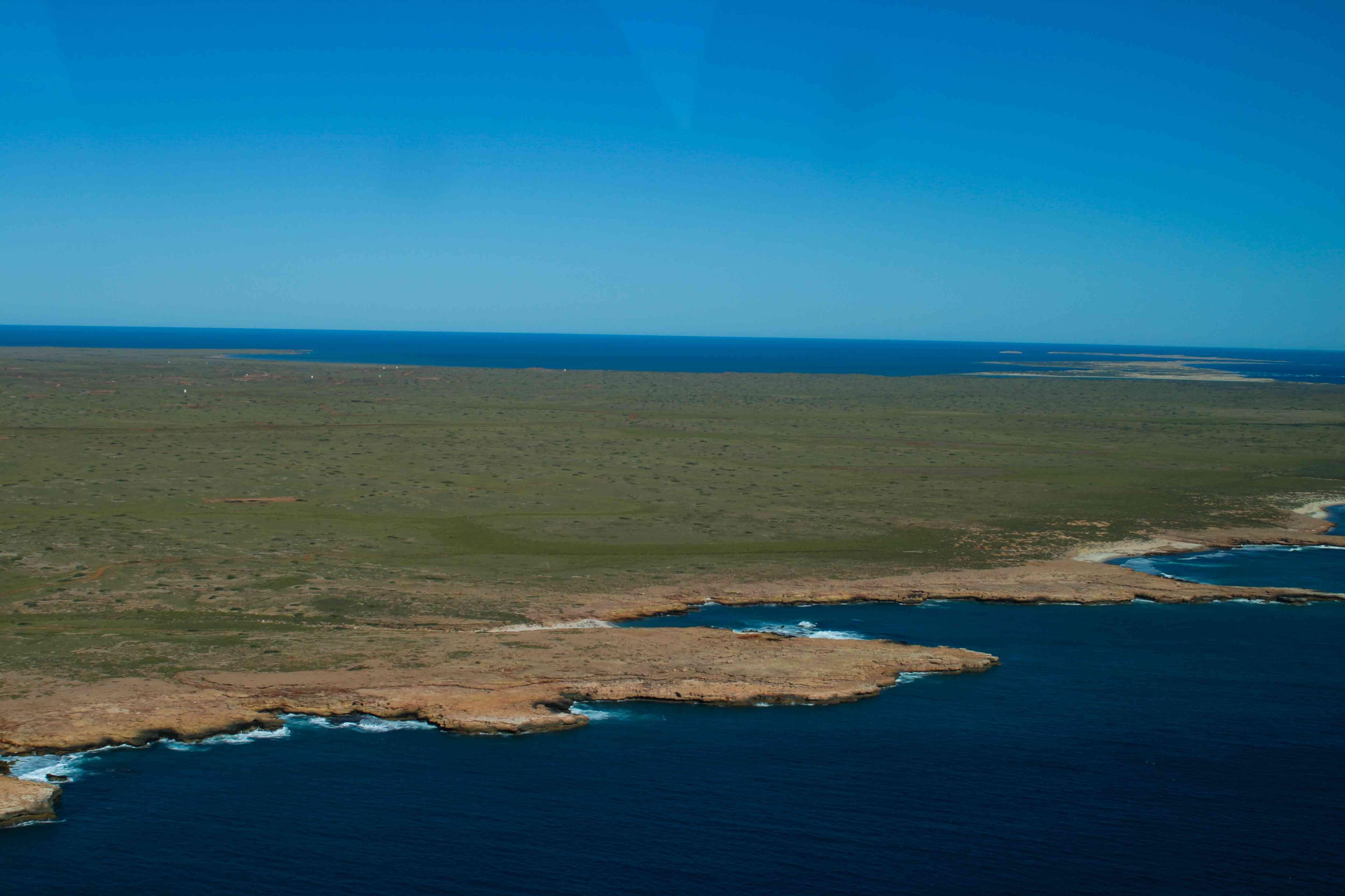 Barrow Island viewed from the air