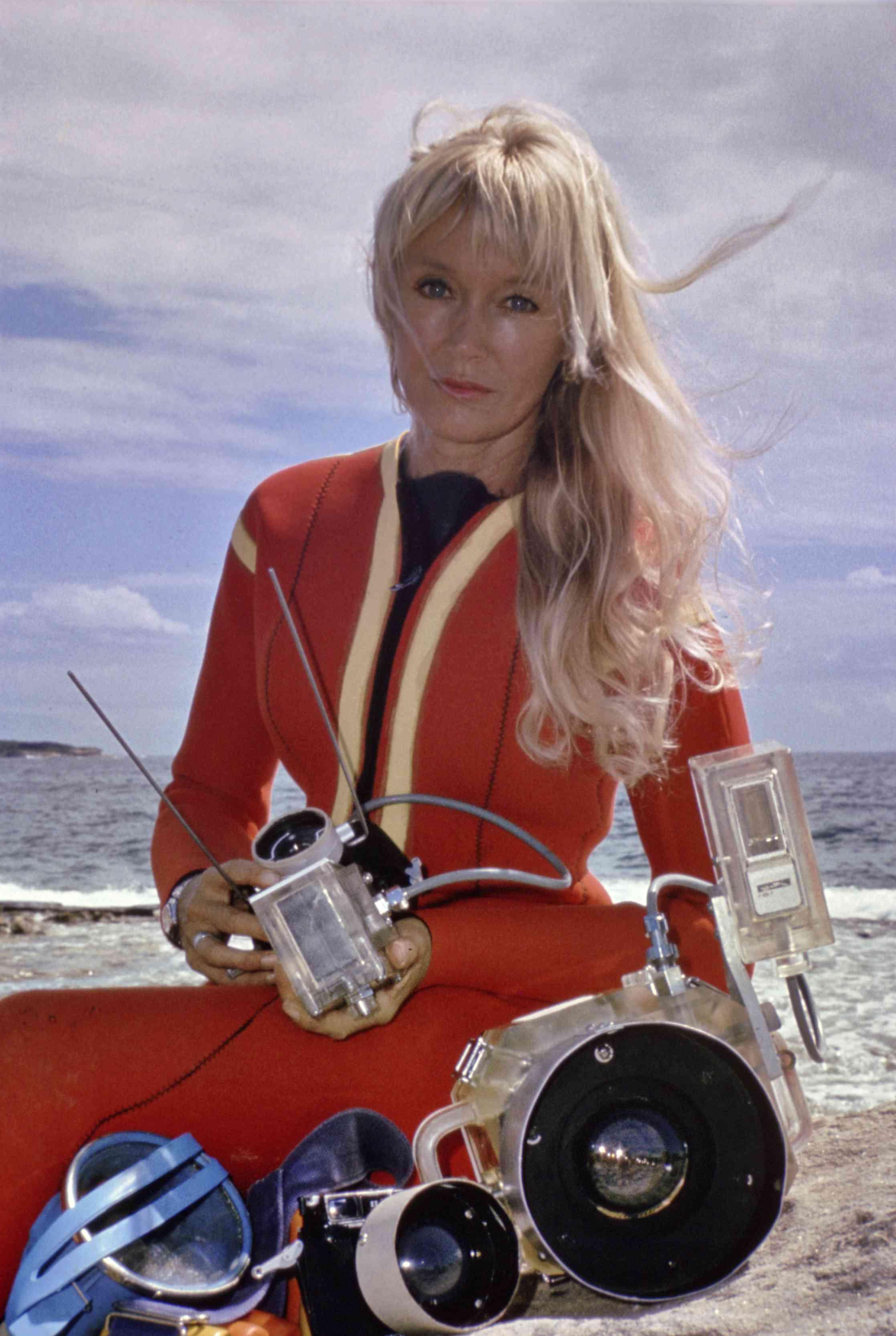 Valerie Taylor in 1975