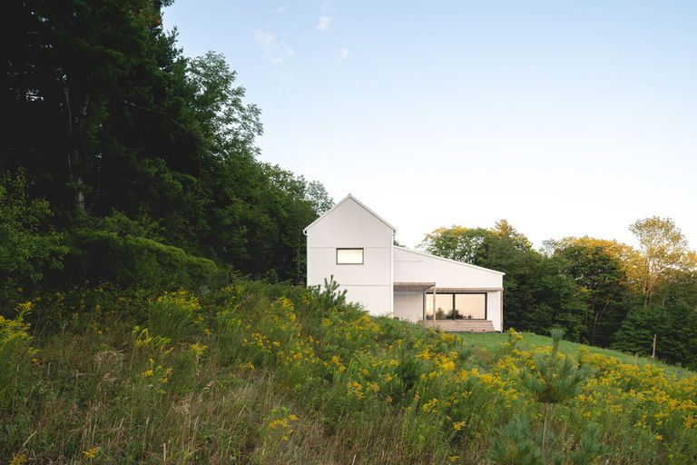 Saltbox Passive House Exterior