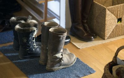 old winter boots