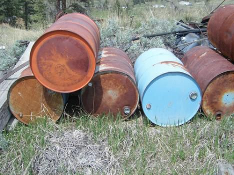 oil drums photo