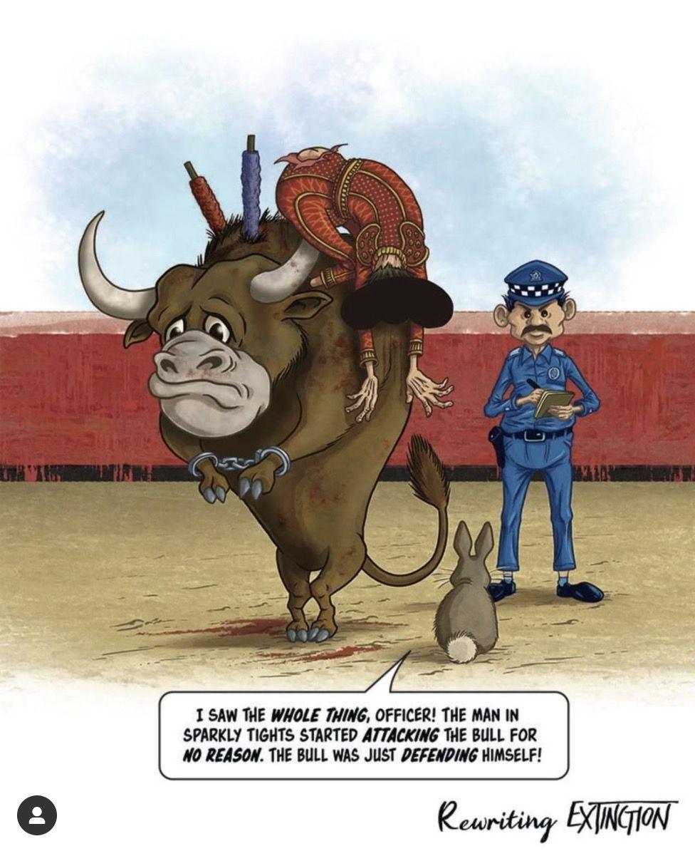 bullfighting comic