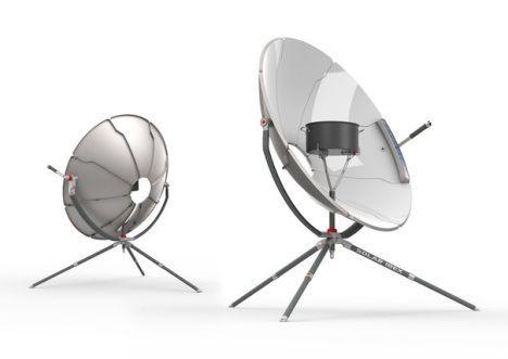 La cocina solar Ibex es una versión de alta tecnología de la estufa Low Tech