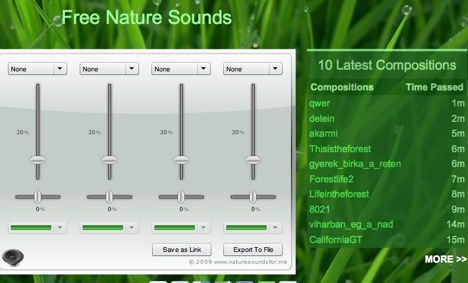 nature sounds app image