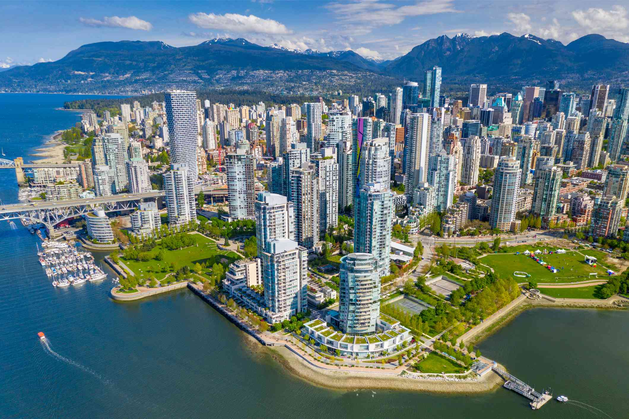 Downtown Vancouver, British Columbia, Canada
