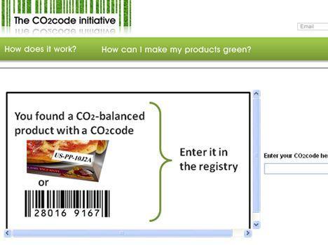 ¿Códigos de barras de huella de carbono en el horizonte?