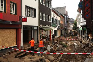 After the flood in Germany