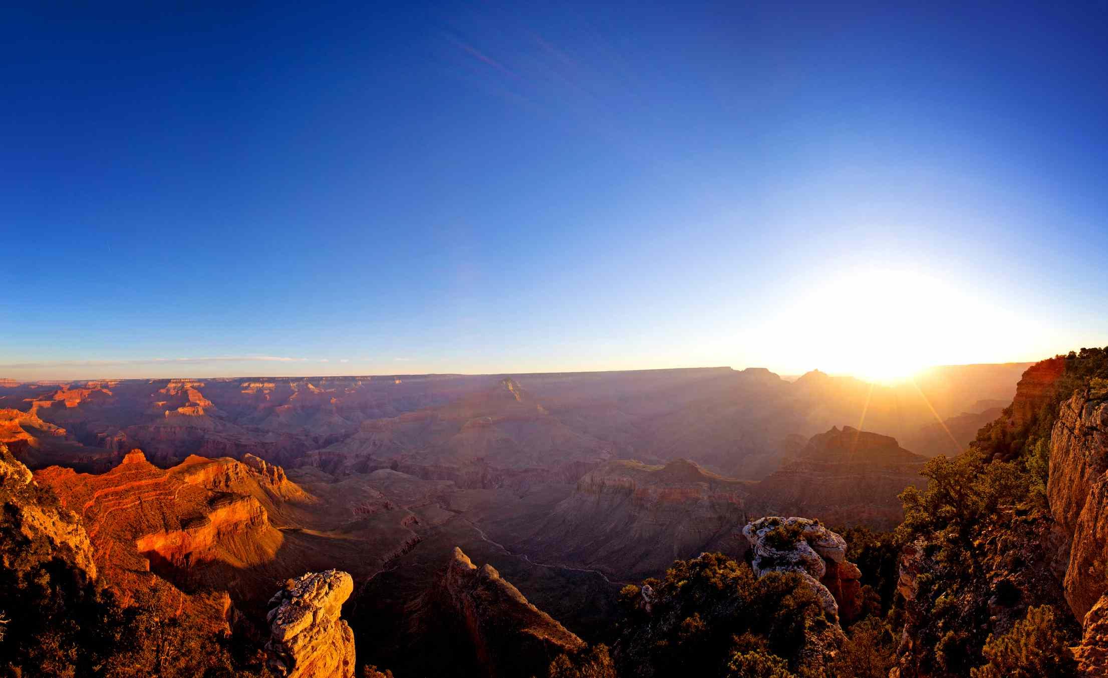 Sunrise over Yaki Point, Grand Canyon National Park