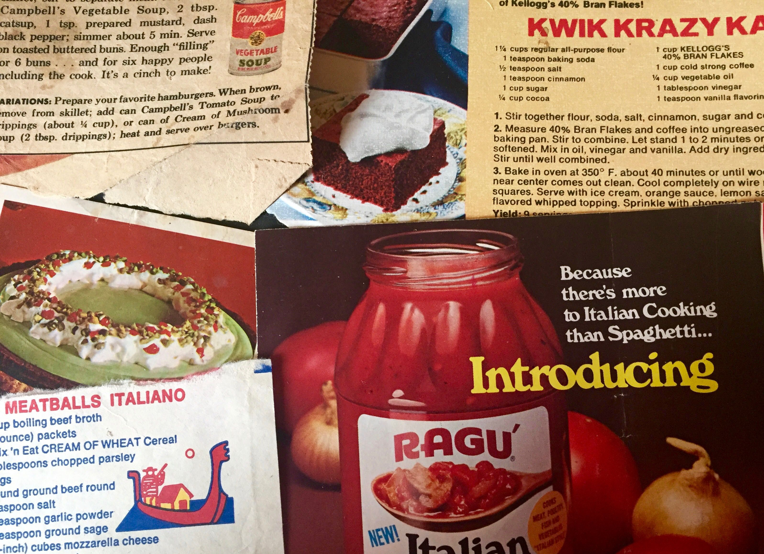 Treasures I Found in My Mom's Old Cookbook